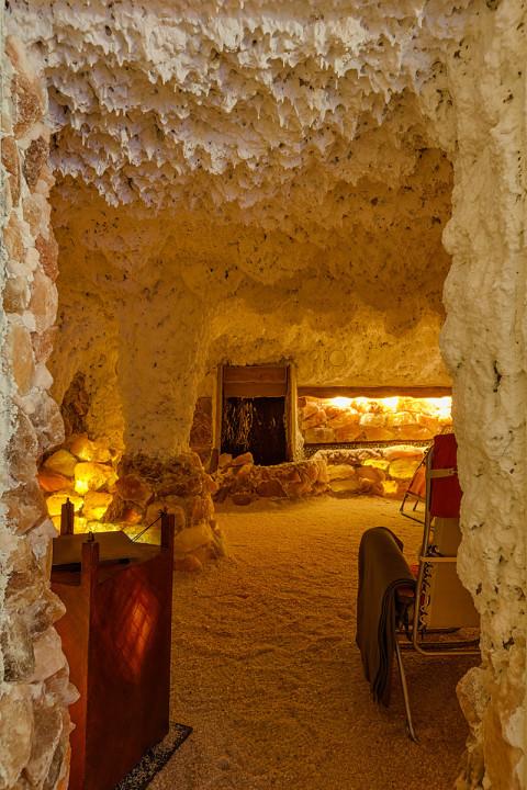 Salzgrotte – Eingang